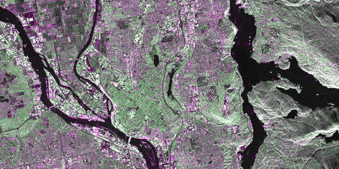 RCM Simulated Data Derived from RADARSAT-2 Data and Product