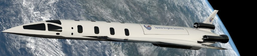 Space Engine Systems concept spaceplane.